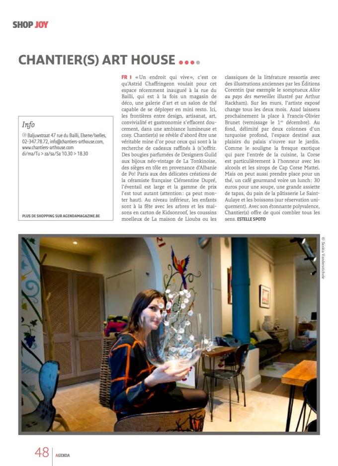 Agenda Magazine - Novembre 2012 - copie